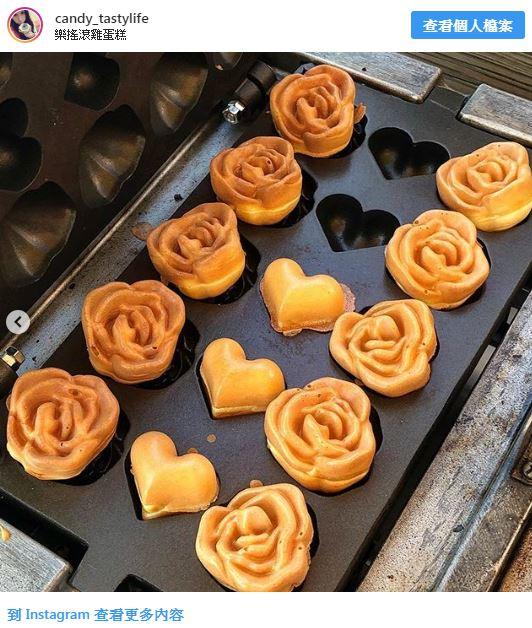 台中「玫瑰花造型雞蛋糕」網路爆紅 超獨特「甜鹹口味」讓吃貨一秒愛上!