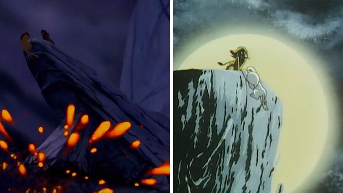 《獅子王》都是抄襲?對比手塚治虫《小白獅》「畫面相似到爆」 網看「掉懸崖一幕」傻眼:太明顯了吧