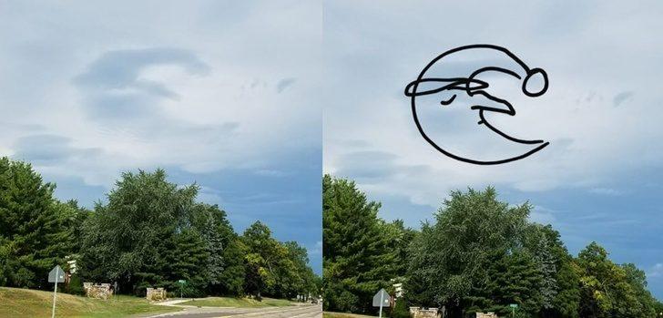 20張天空的雲「比好萊塢電影精采」的照片 《復仇者》的次元之門真的存在!