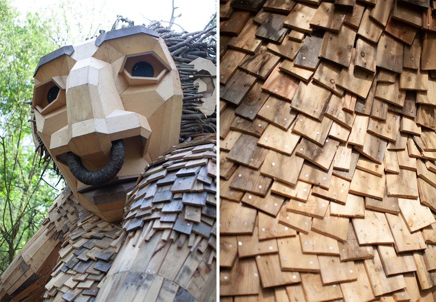 影/他用回收材料打造「荒野中的魔獸」被瘋傳 揭開背後「連結大自然」暖心用意被網讚爆!
