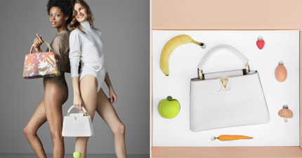 LV聯合藝術家推「可以掛蔬果」的百萬包包 「超奇葩設計」網友狂吐嘈:時尚太難懂!