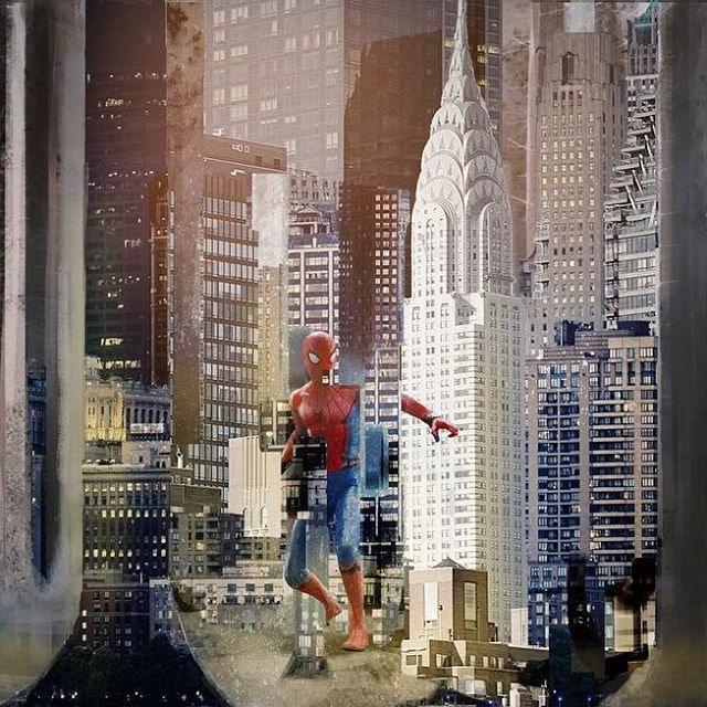 漫威官方首曝光《蜘蛛人:離家日》概念圖 意外揭鋼鐵人「被刪減劇情」!