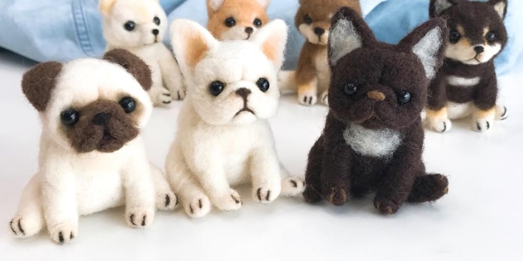 網友買「萌犬羊毛氈」卻不照說明書做「超驚悚成品」嚇壞網友:狗看到會哭!