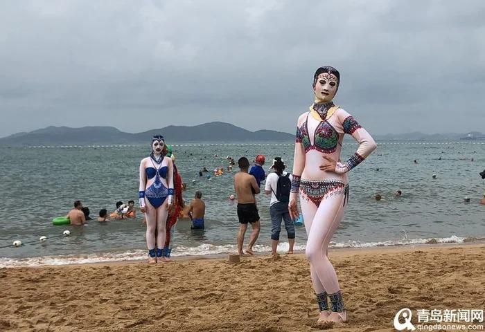中國特有超獵奇「臉基尼」爆紅 大媽設計「6種花色」被網讚爆:有意義!
