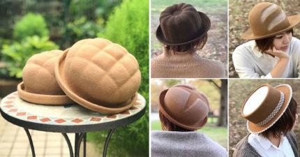 神人推「新鮮出爐的麵包帽」網美瘋搶 「超鬆軟設計」一不小心就會咬下去!