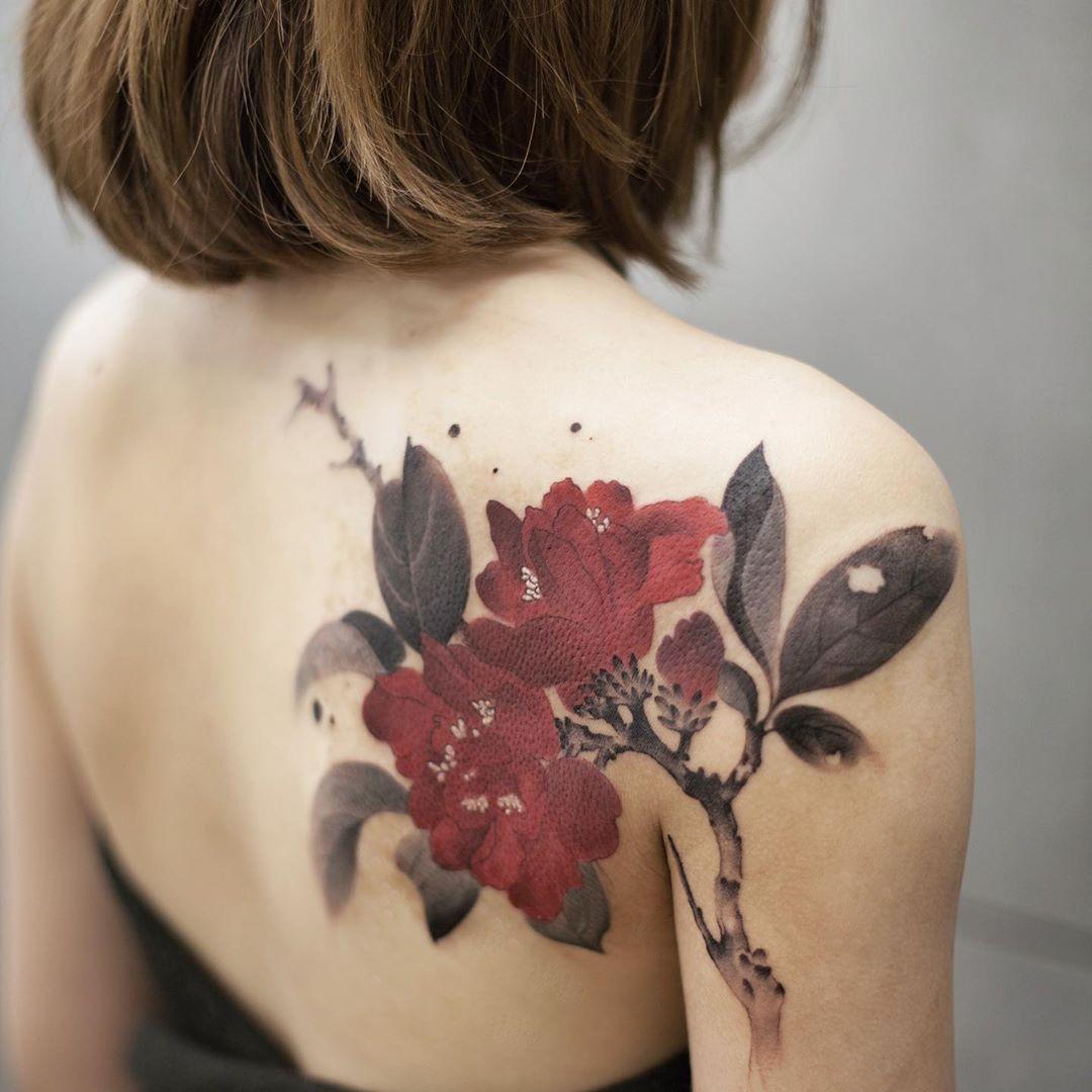 20個文青最愛的「水彩系」夢幻紋身 在「皮膚上暈染」的效果比在紙上更驚人!