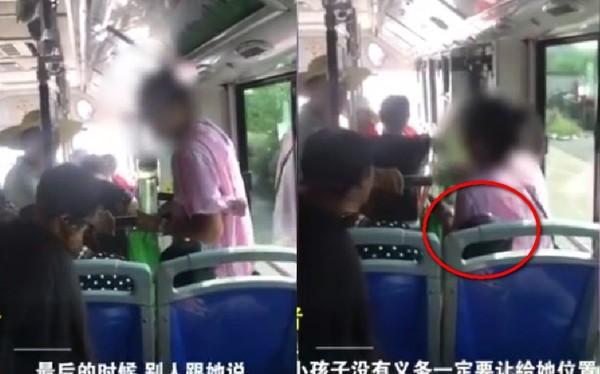 大媽公車找不到位子竟「強坐男童身上」 反嗆「小孩可以站著」網震怒:不需要讓座!