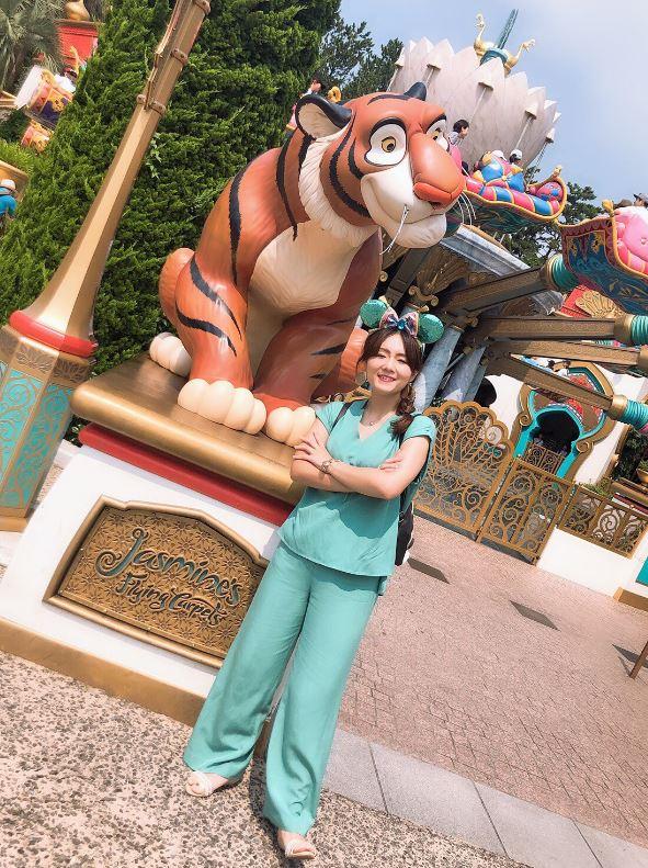 女兒Cosplay茉莉公主去迪士尼 卻慘被親媽「超過分神回」網笑翻:這真的會有陰影XD