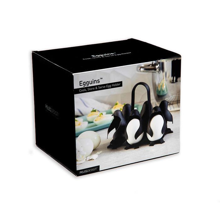 設計公司推出超萌「企鵝煮蛋器」 水煮蛋再也不怕被水噴!超Q模樣圈粉無數:好想買