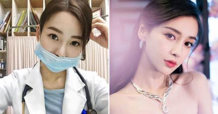 台灣「仙女系醫生」神似Angelababy爆紅 10萬粉絲狂推:「脫掉口罩」更完美!