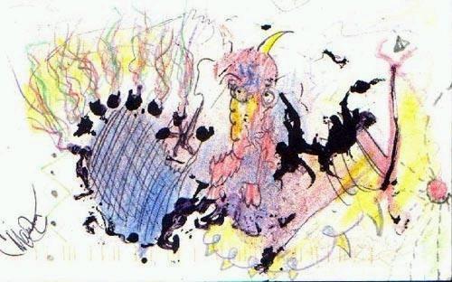「人魔曼森」其實是天才?網曝光「超越凡人水準」畫作被讚爆