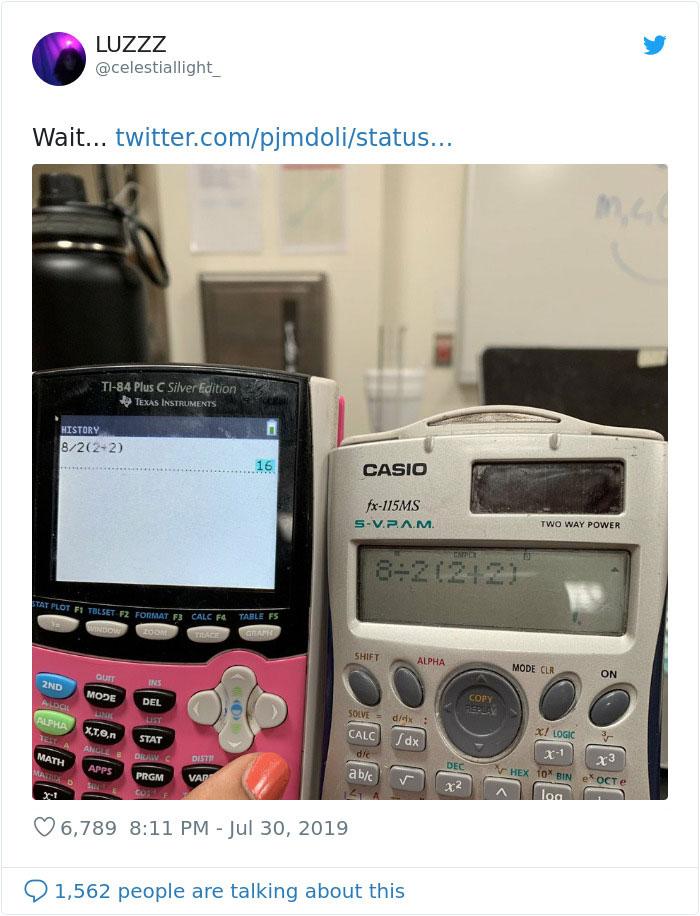 網崩潰求解「超簡單小學算式」!答案「3秒就算好」卻意外引爭議:絕對不是1