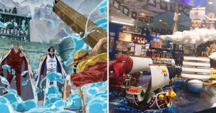 《航海王》專賣店展出「史詩級戰役」!連海下都有驚喜...粉絲見「哥哥小船」全哭翻