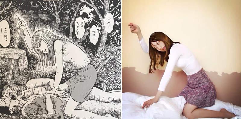 正妹完美Cosplay「伊藤潤二恐怖角色」爆紅 她化身富江「詭異眼神」被讚爆:神還原!