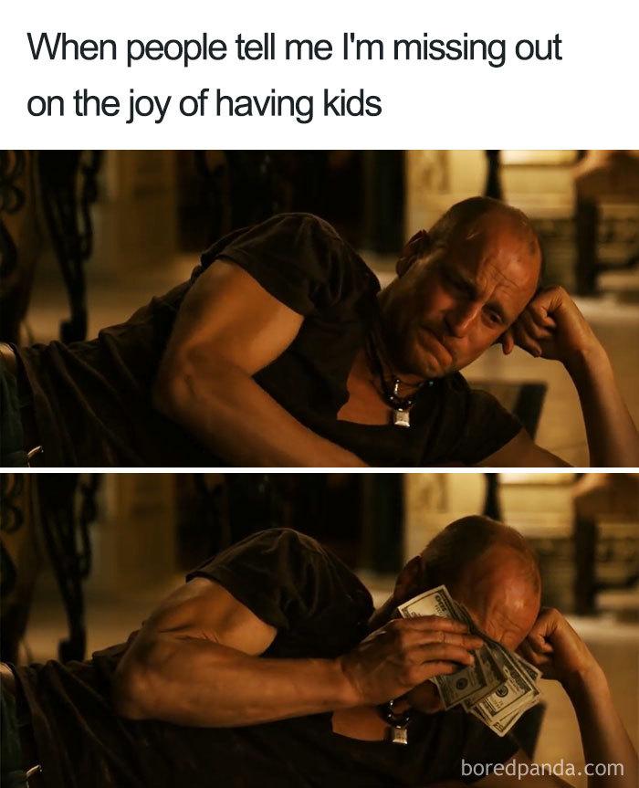 30張「不生小孩的人一秒看懂」的爆笑梗圖 把「有小孩的家庭看成鬧劇」的暗爽只有他才懂!