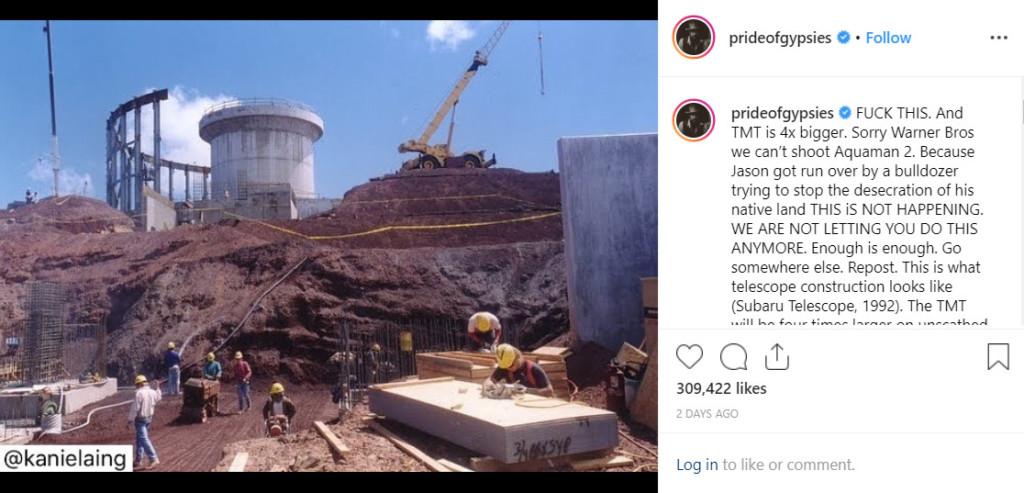 傑森摩莫亞爆《水行俠2》無法開拍!暴怒在IG飆罵「我受夠了」粉絲嚇壞