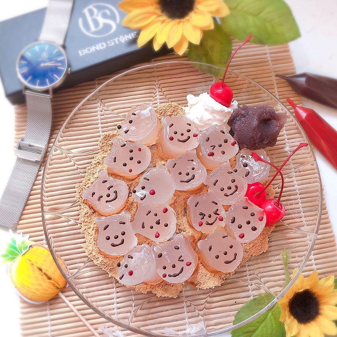 這次不玩珍珠!日本傳統「透明蕨餅」變Q嫩卡通 「玩具總動員」想一次全吃掉