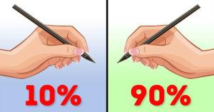 為什麼世界上有「左撇子」?研究發現「用左手的驚人好處」他們記憶力更好!