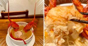 超浮誇龍蝦拉麵!整碗「龍蝦高湯+完整龍蝦肉」不到台幣300 網暴動:怒吃一波