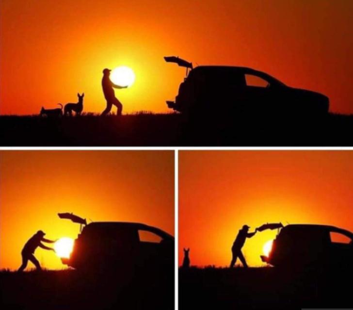 20位「絕對能贏得幽默大獎」的爆笑人類 他直接把「整顆大太陽」塞進後車廂!