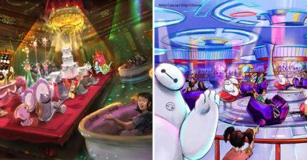 東京迪士尼開放全世界第一座「美女與野獸園區」 完美還原「野獸城堡」美到想哭❤