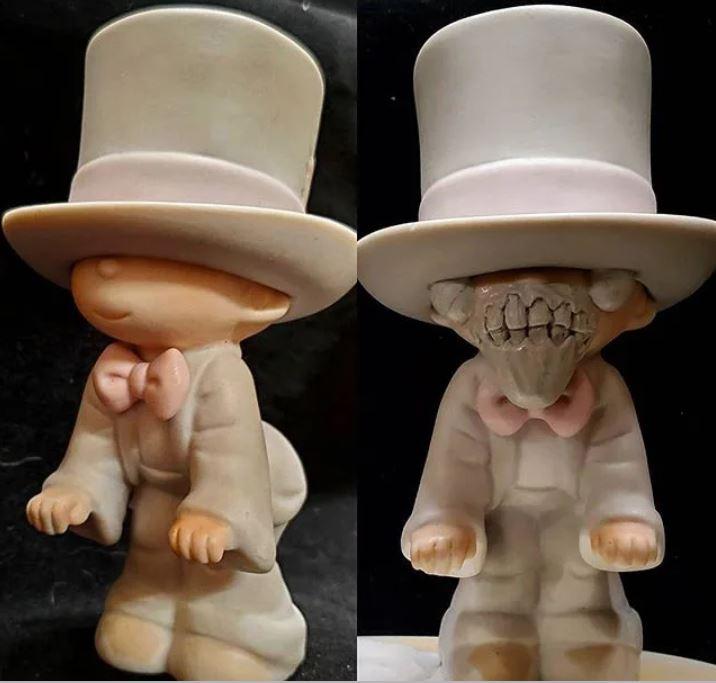 藝術家把夢幻玩偶改造成「崩壞版造型」!「小丑潘尼懷斯」成品超毛:比本尊還恐怖