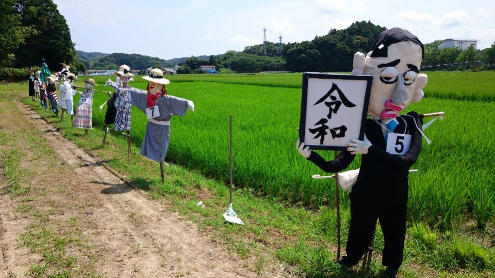 日本出現「還原宮崎駿電影」的造型稻草人 《風之谷》「最感人場景」被重現!