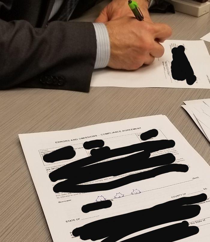 他身分證貪玩畫「3顆貓頭當簽名」!3年後買房踢到鐵板:差點後悔一輩子