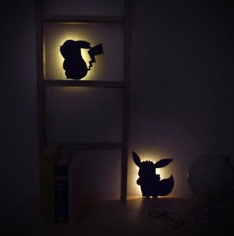 養在家裡~日本推出超萌《精靈寶可夢》夜燈 「皮卡丘款」發光後...童年夢想成真!