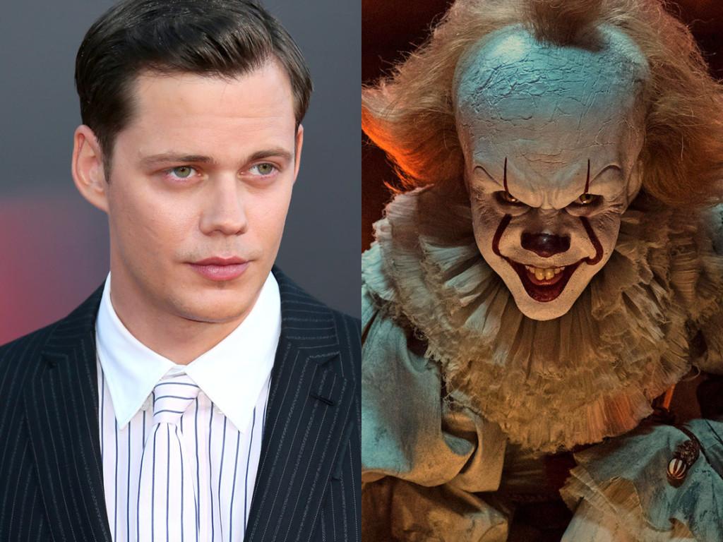 面具背後的超高顏值!11個好萊塢著名角色的「演員卸妝對比」 《牠》的小丑帥到讓你忘記他的恐怖