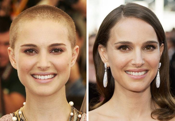 10個「就算剃光頭也比你正」女星!光頭在神顏值面前根本小case...網:臉才是重點