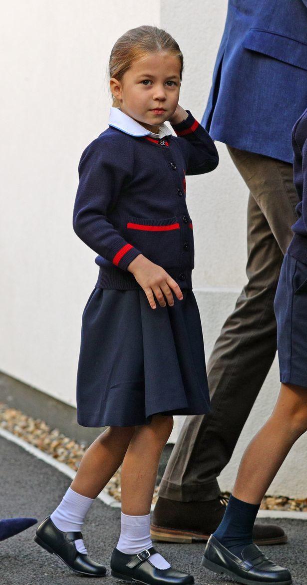 夏綠蒂公主「第一天上學」超萌畫面流出!網看「書包亮點」卻驚:其他同學羨慕死了
