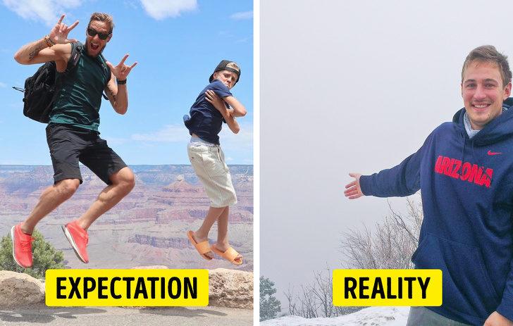 旅行悲劇!15張「期待VS現實完全相反」崩潰景點照 搭十幾個小時飛機去大本鐘...他傻眼了