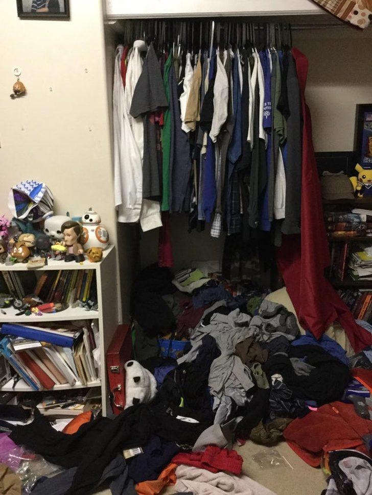 25個「打開衣櫃」得面對的難題 每個人都有那張「神祕的椅子」