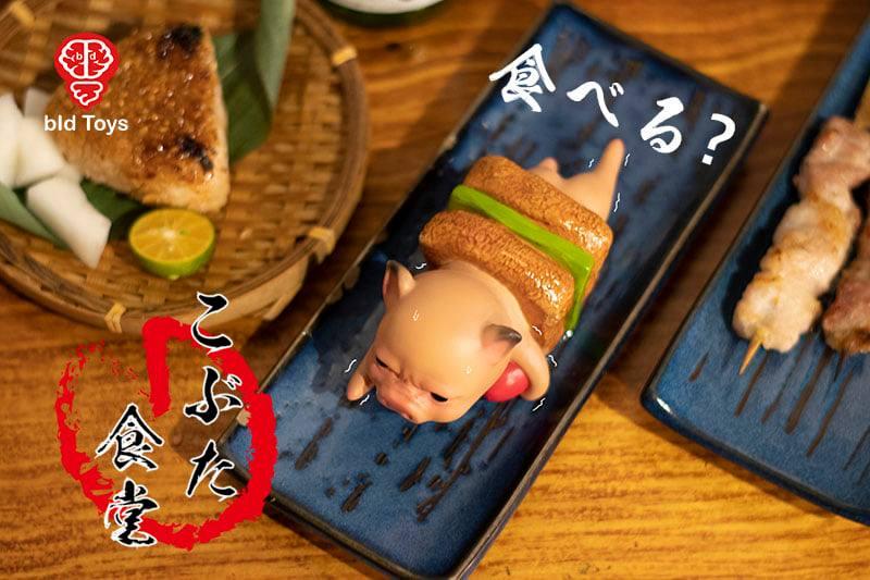「粗豬食堂」推出超萌豬肉新菜色 串燒小豬「YAKI」抖抖淚眼哭:別吃我QQ