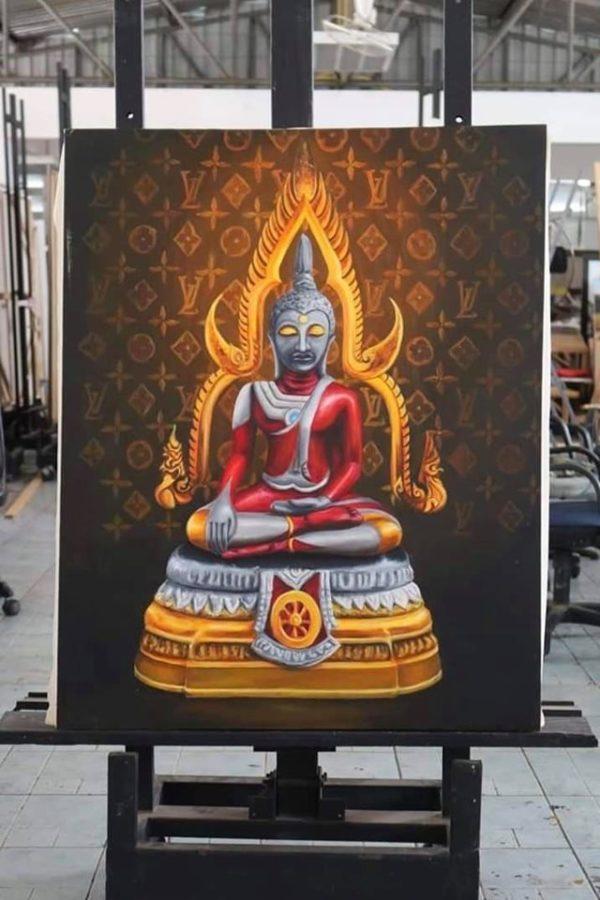 女大生「把佛陀畫成無敵超人」自以為創意 她最後「超悲劇下場」網歎:別拿宗教開玩笑