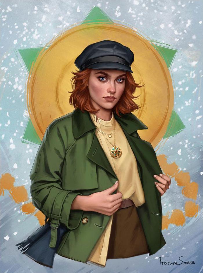 9個「現代版動畫人物」帥氣插畫 《瑪利歐》裡的「碧姬公主」比艾莎還正!