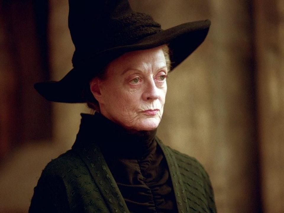 哈利波特「麥教授」年輕舊照流出!超高顏值「空靈氣質+低胸衣」粉絲大讚:她比妙麗更正