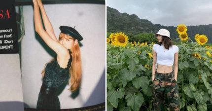 BLACKPINK成員Lisa腰繞一圈「只有51公分」 設計師把「髮帶→腰帶」網:太腰瘦!