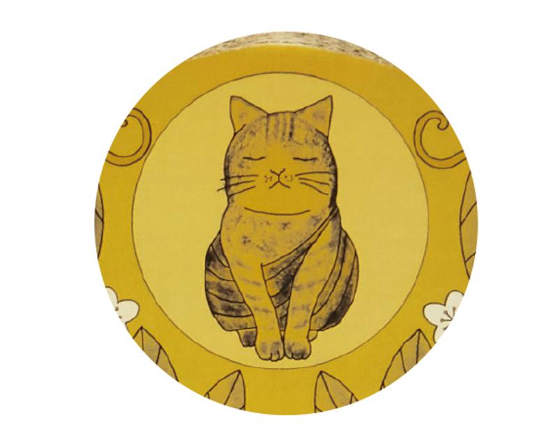 「佛系貓抓板」喵皇一坐上去...貓觀音來了!奴才瘋搶:想入教
