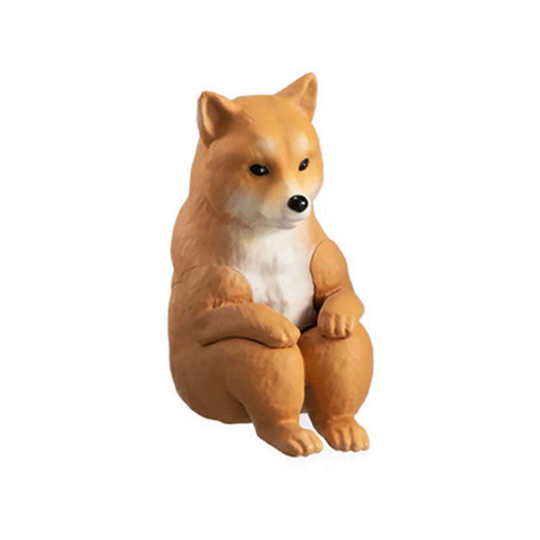 淡淡的憂傷!日本推「等待中的動物」扭蛋引熱議 雙手抱膝「捲成一團」萌到想哭QQ
