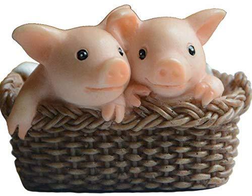美國推「耍廢小豬公仔」引搶購熱潮!小豬「扶下巴發呆」模樣太萌 根本是女友翻版❤