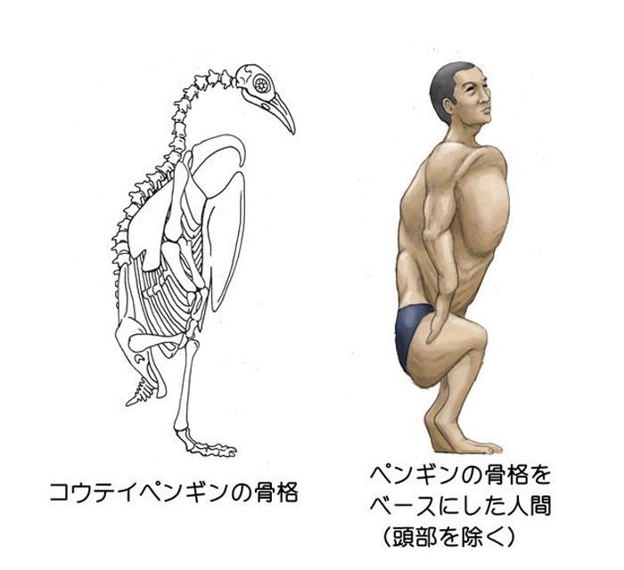 腦洞藝術家畫出11張「人類塞進動物身體」的獵奇作品 手指骨頭變長「秒變翼手龍」!