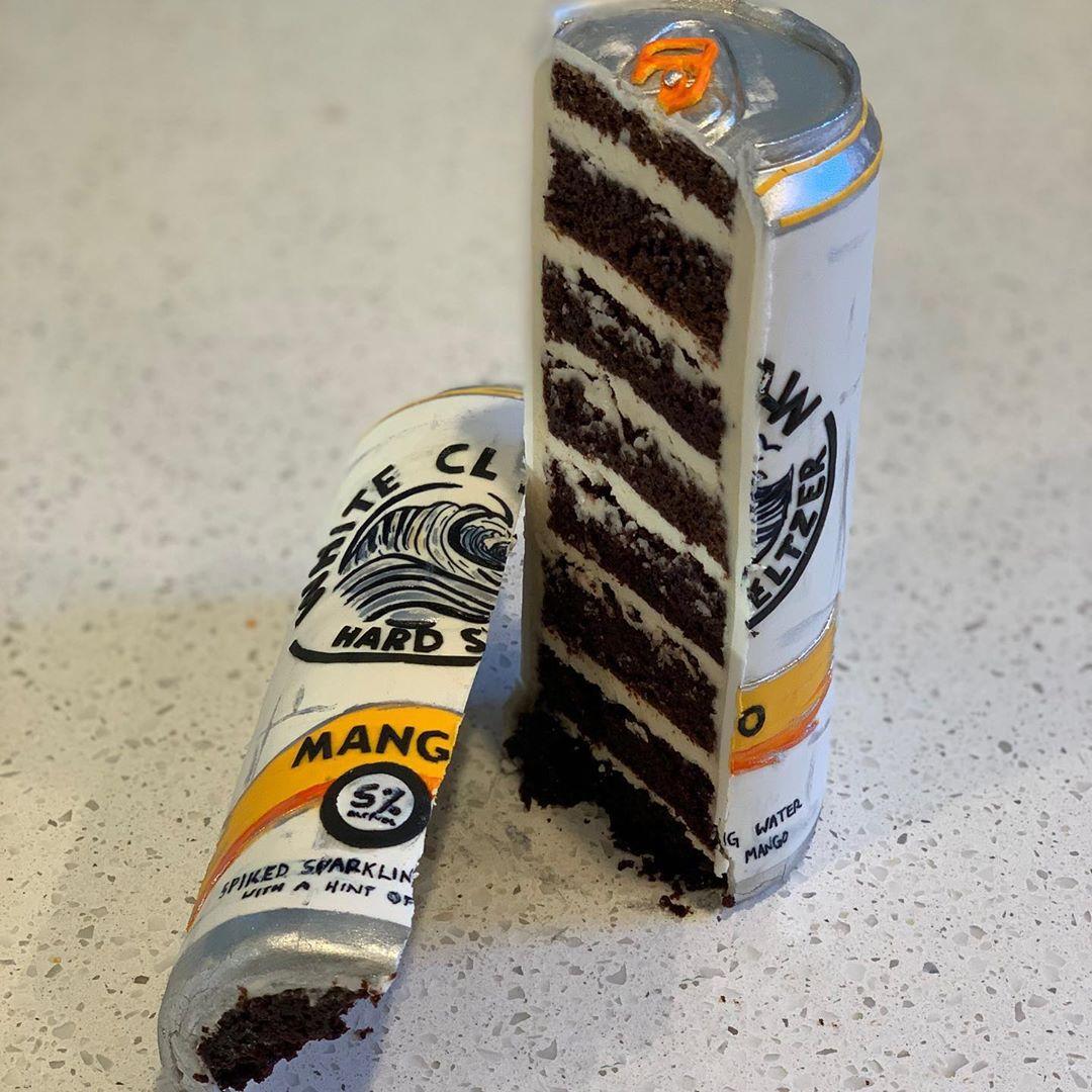 23個「用刀切開才會破功」的超擬真蛋糕 還原整個「早餐時光」連桌子都是假的!