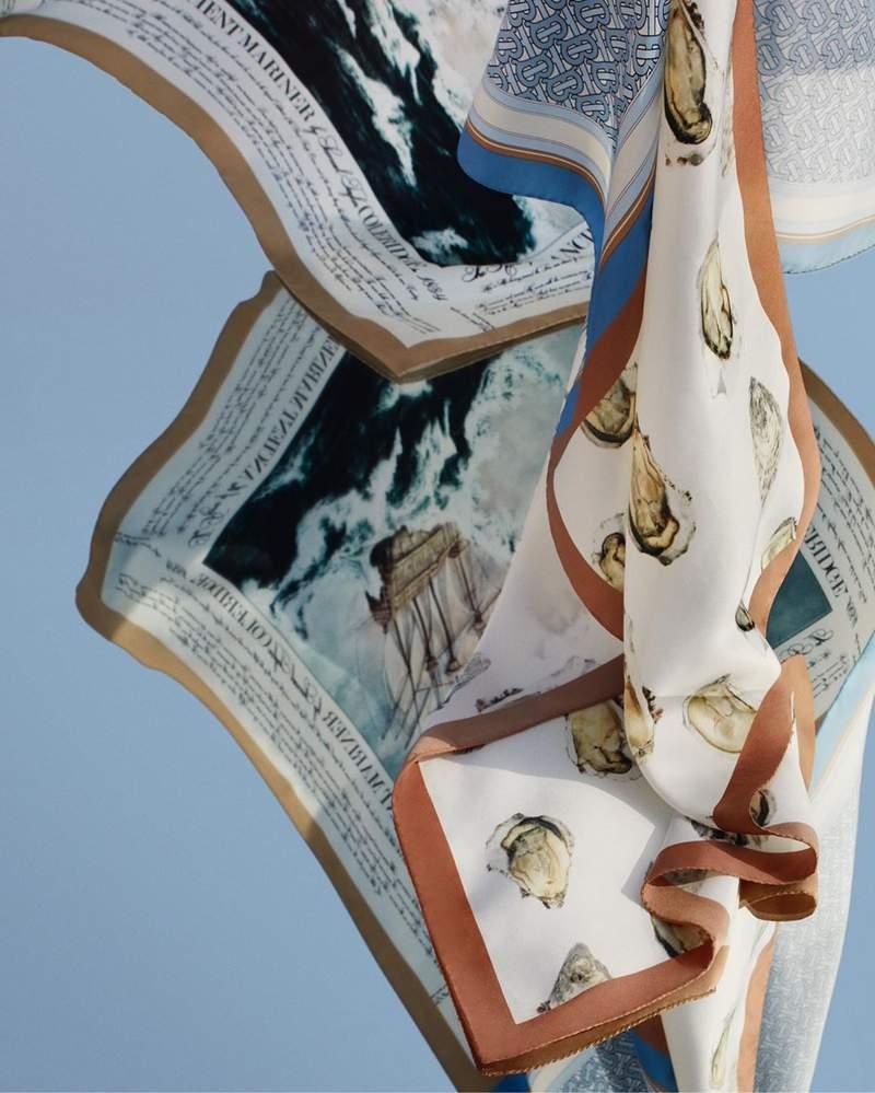 Burberry推「把牡蠣穿在身上」的秋冬新品 網看到「整顆掛耳朵」畫面狂笑:有味道…