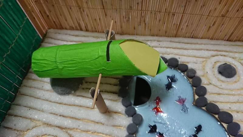 國小妹用1天打造「日式庭園存錢筒」被瘋傳 超實際「儲蓄功能」被讚爆:神人!
