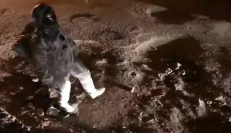 影/網瘋傳印度人「在太空漫步」的現場畫面 鏡頭一換出現「關鍵疑點」193萬網友讚爆!