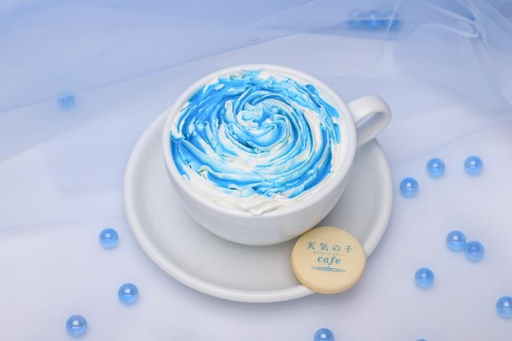 日推出期間限定《天氣之子》咖啡廳!神還原3款電影餐點 「旋風雲朵拿鐵」超唯美❤