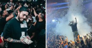 影/饒舌歌手夜店開唱…他「狂撒150萬鈔票」粉絲嗨翻 現場就像「下錢雨」畫面曝光!