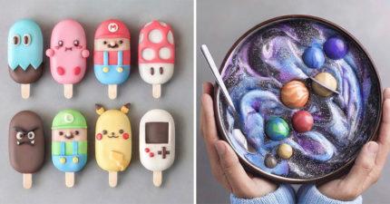 夢幻到像在看繪本!天才少年的純天然「夢幻網美系」素食甜點